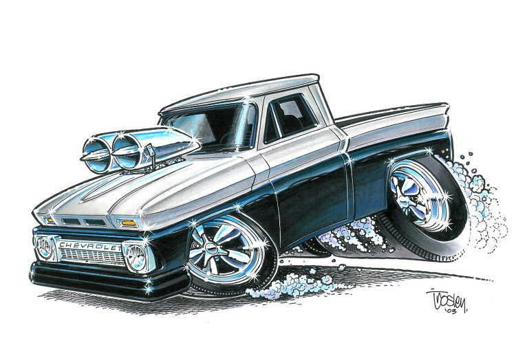 Cartoons Pickup Trucks Register Or Log In To Remove These Advertisements Chevy Trucks Car Cartoon Truck Art