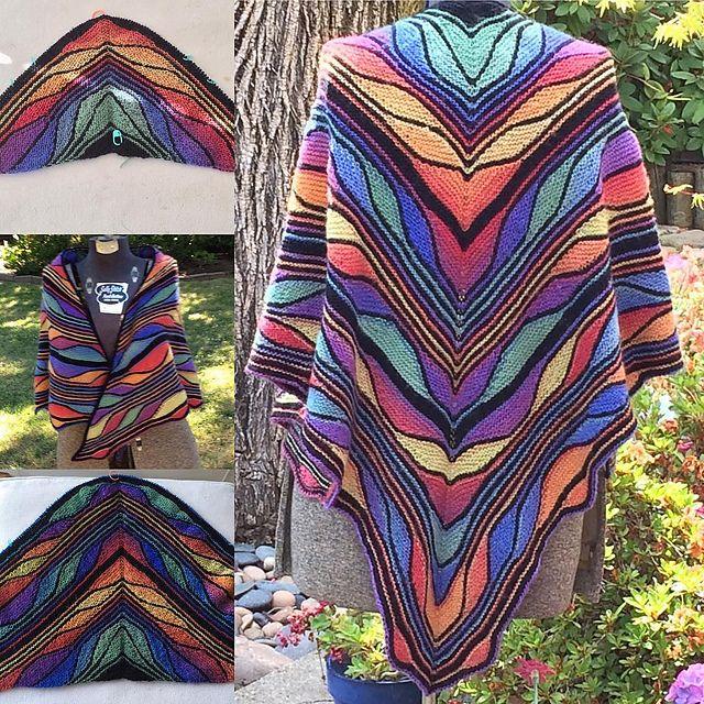 Butterfly Papillon Pattern By Marin Melchior Papillon Shawl
