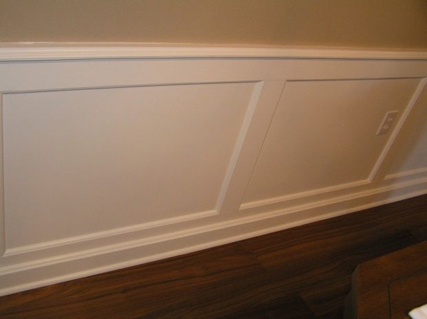 The Top Molding Is Just A Chair Rail Type Trim Or In Your