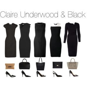 Claire Underwood & Black