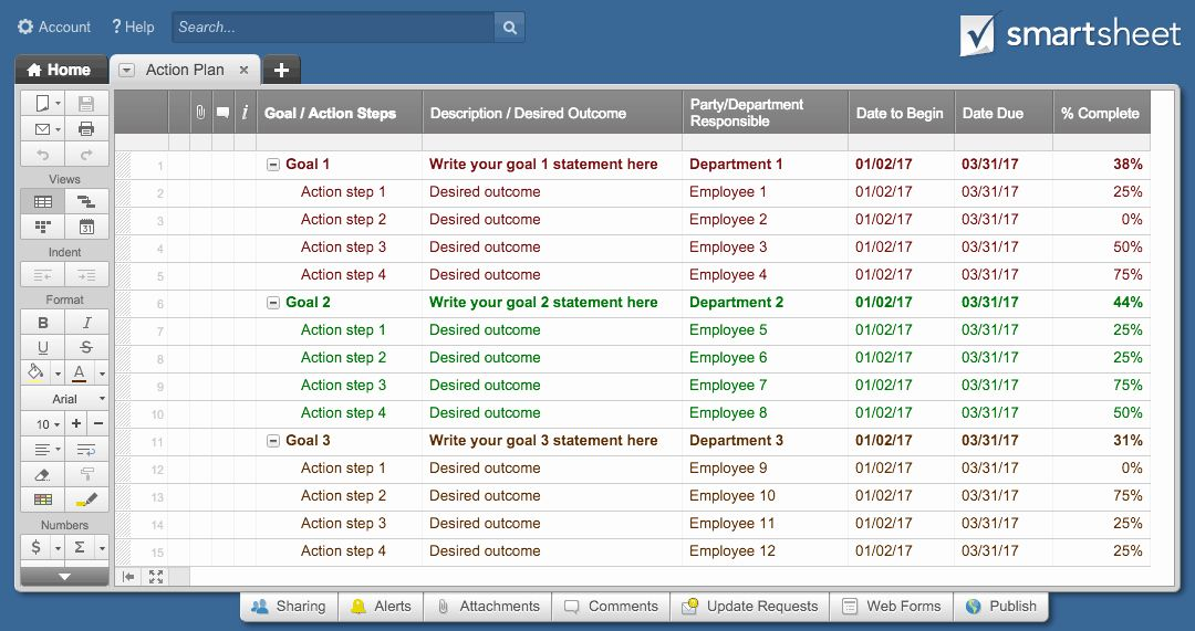 Action Plan Template Excel Inspirational top Project Plan