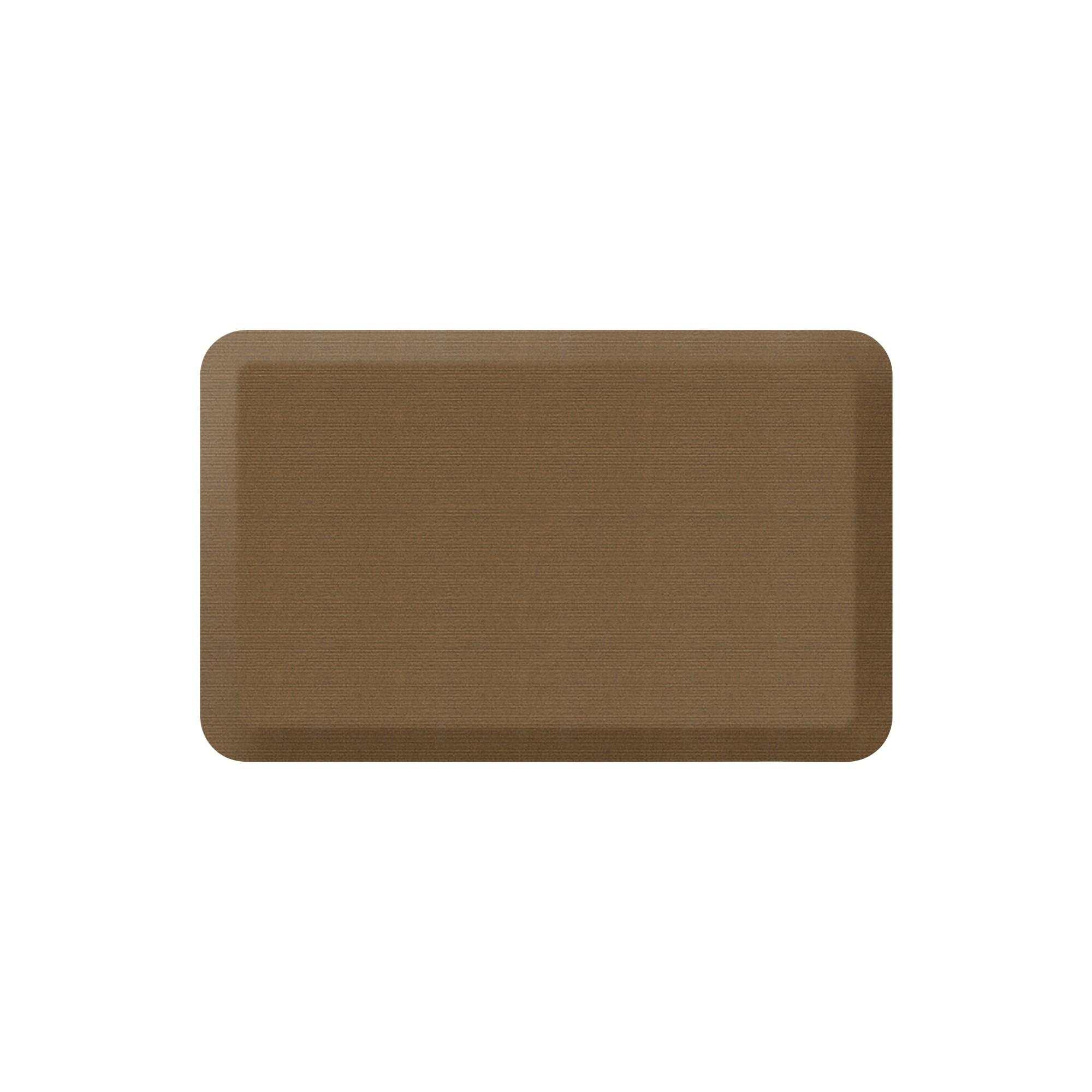 Newlife By Gelpro Designer Comfort Kitchen Mat Grasscloth Khaki 20x32 Design Kitchen Mat Grasscloth