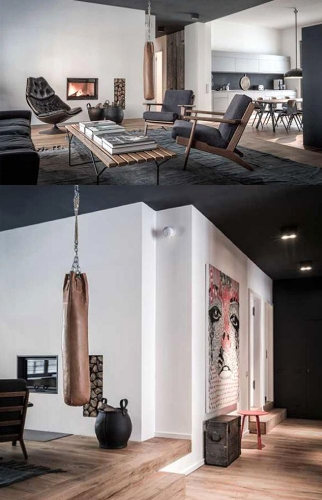 Bachelor Pad Masculine Apartment Style In Berlin Apartment