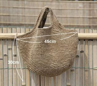 Photo of superfly: Handmade hemp bag! Artisan knitting a carefully one by one! | Rakuten Global Market