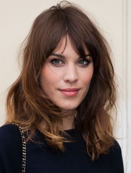 .Could I pull off a fringe like this? Coiffure Coupe