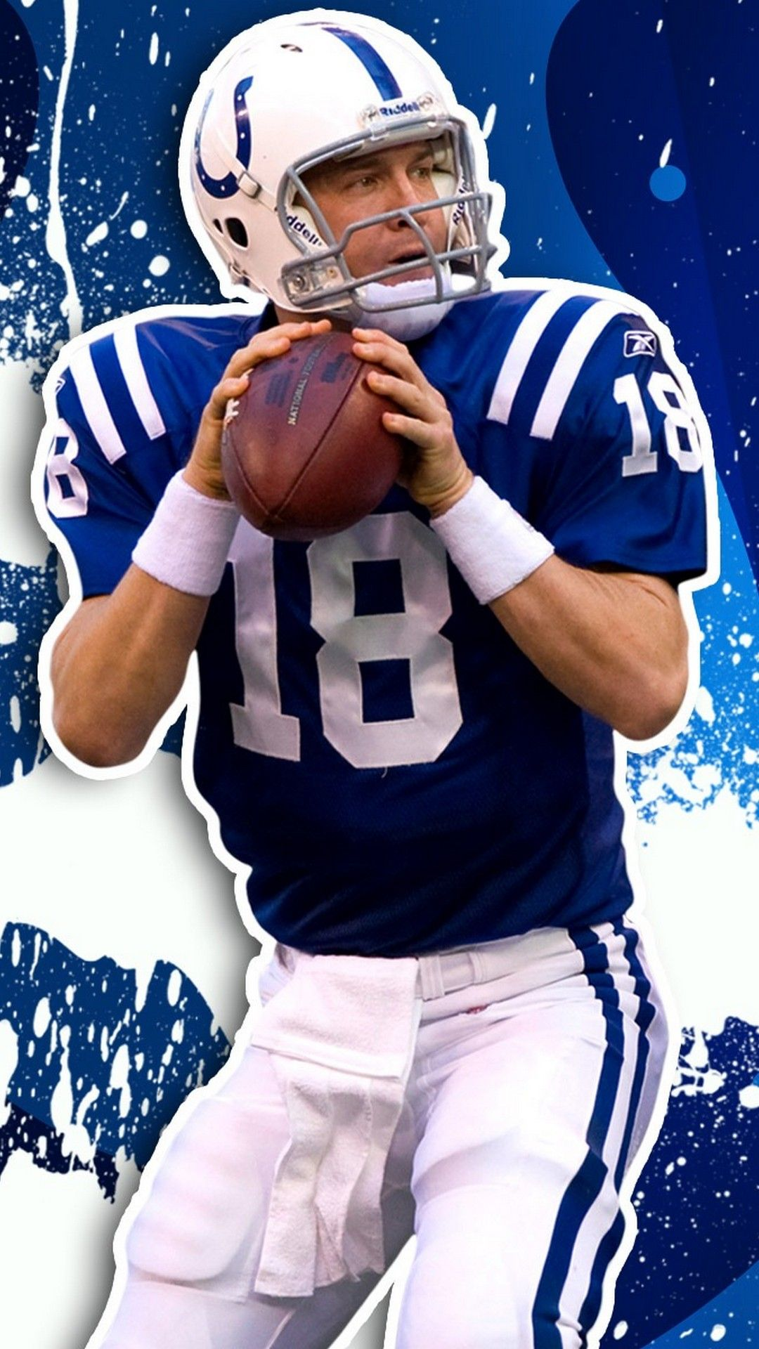 iPhone Wallpaper HD Peyton Manning Indianapolis Colts