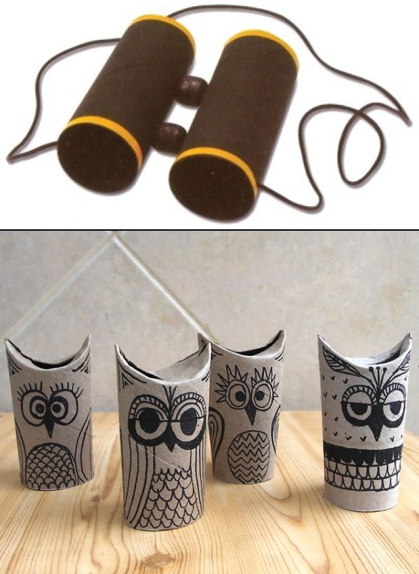 Making Cool Stuff With Toilet Paper Paper Towel Rolls Diy