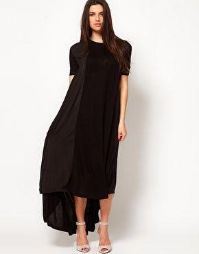 Images of T Shirt Maxi Dress - Reikian