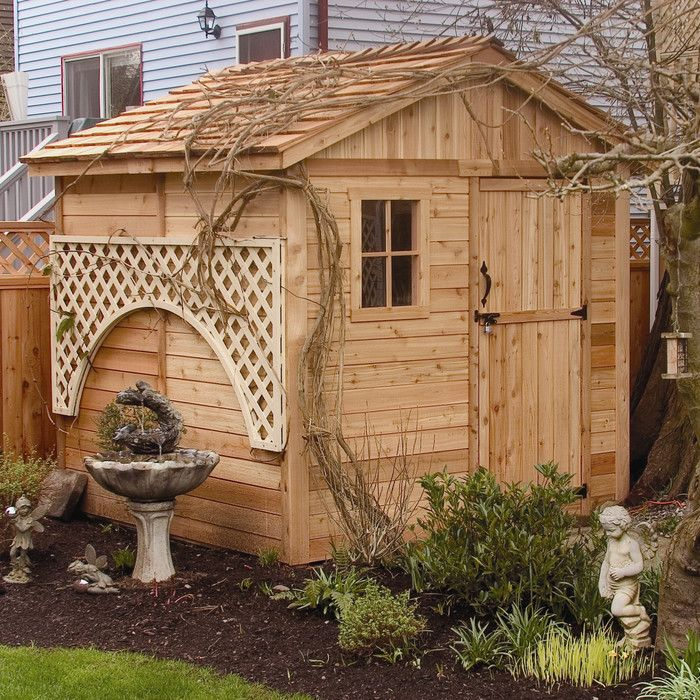 outdoor living today gardener 8 x 8 ft storage shed the outdoor living today gardener 8 x 8 ft storage shed has the size and the quality construction - Garden Sheds 8 X 4