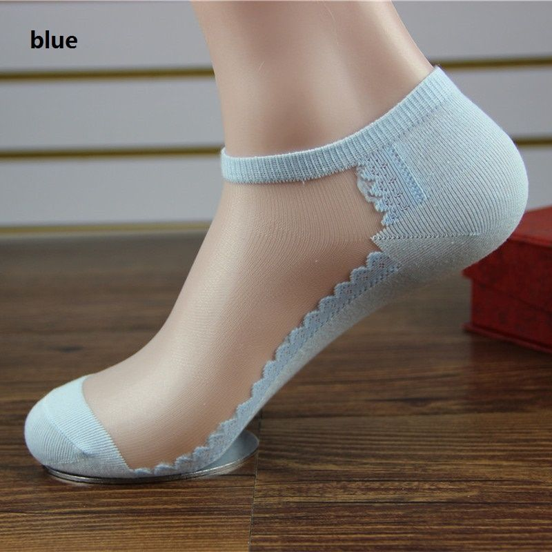 aae37a6e431d5 Fashion Style Cotton Socks Ladies Invisible Lace Summer Socks Crystal Glass  Ankle Girls Female Socks Slippers Socks 8z-wz0201 //Price: $2.99 & FREE  Shipping ...
