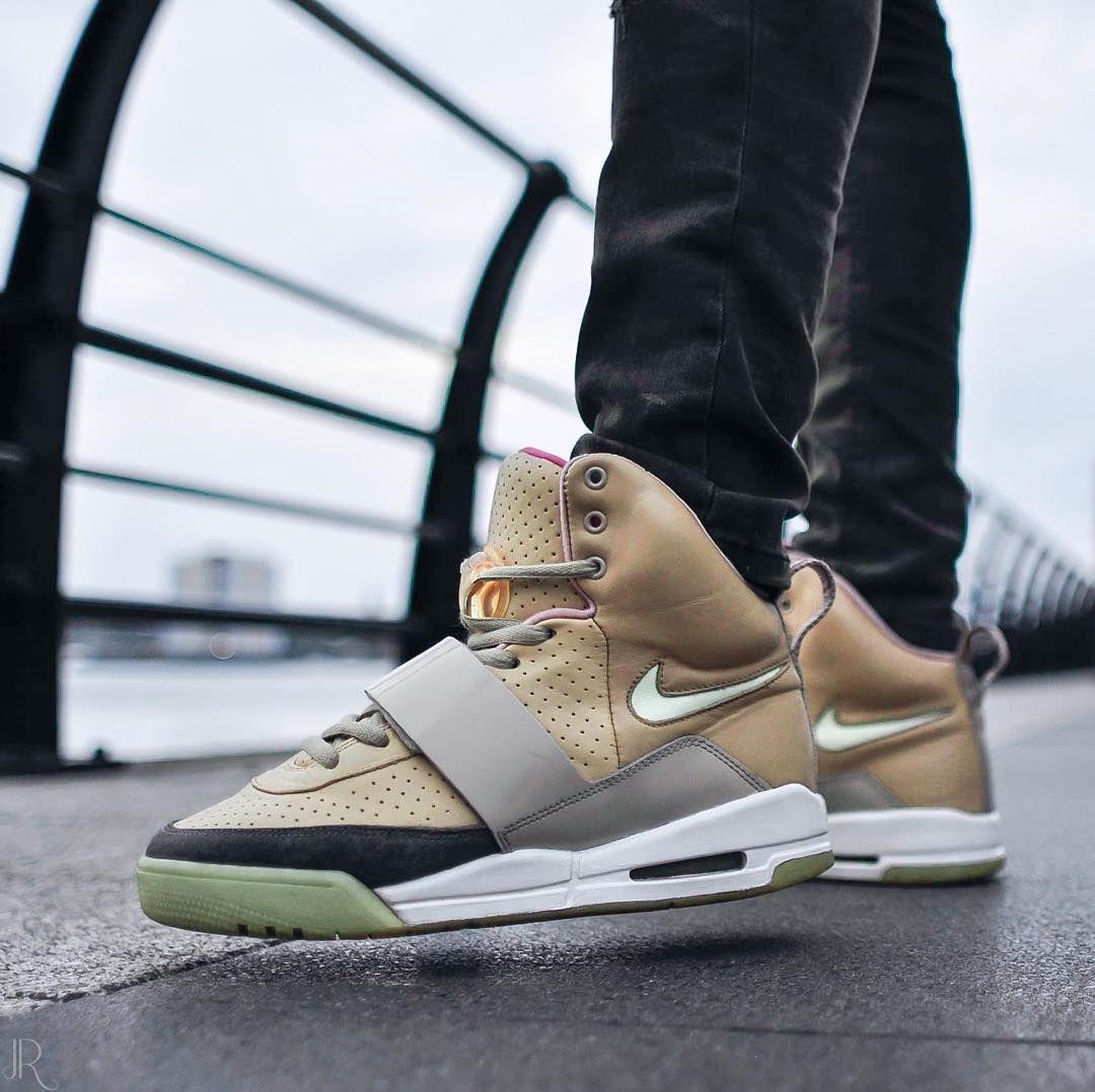 Nike Air Yeezy 1 Net Tan Nike Sneakers Yeezy