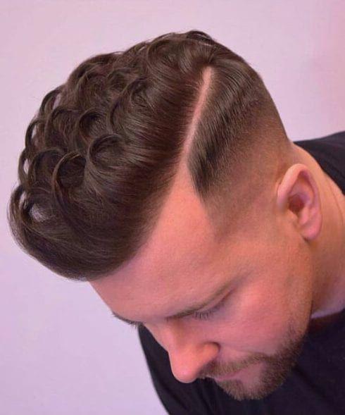 45 coiffures de côté pour les hommes classiquement beau