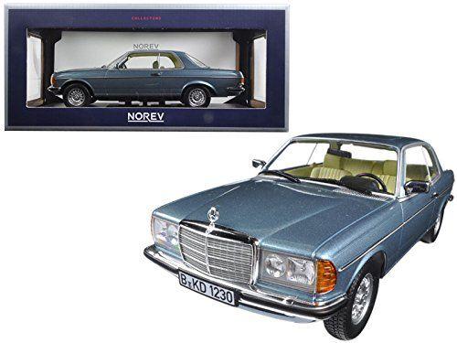 1980 Mercedes 280 CE SilverBlue Metallic 118 Model Car by