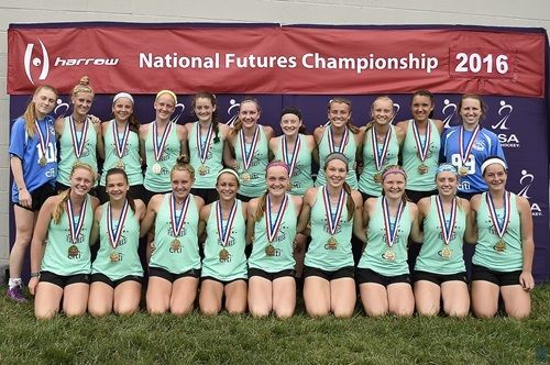 Photo Gallery The U 16 Division Completed Play At The 2016 National Futures Championship At The Home Of Hockey Field Hockey Hockey Players Spooky Nook Sports