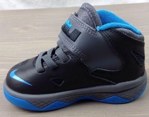online retailer 3a120 cc107 Nike Lebron Soldier 7 Toddler Boys Size 5C Hook & Loop ...