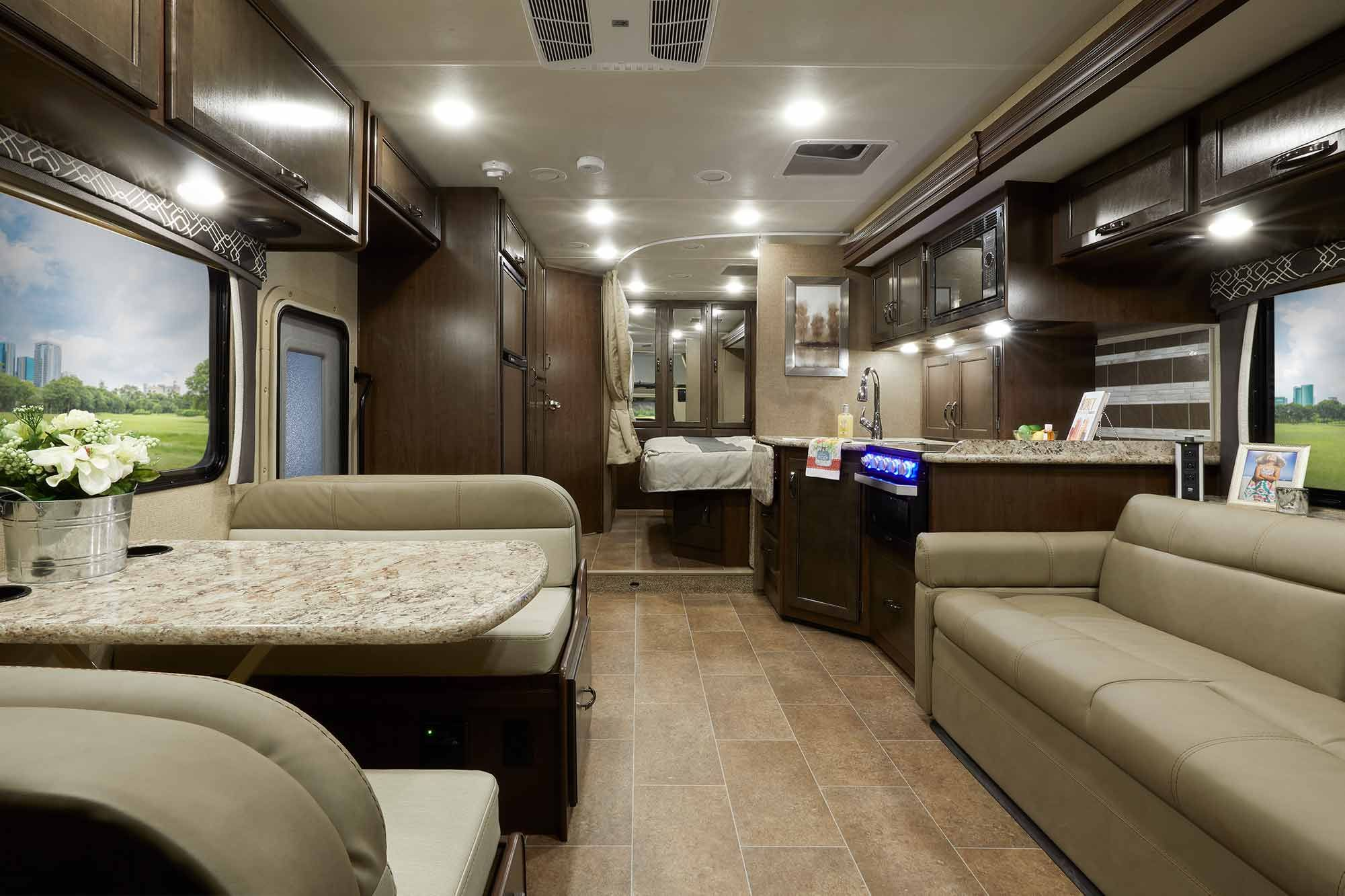 It Has A King Size Bed Dinette Sofa And An Awesome Corner