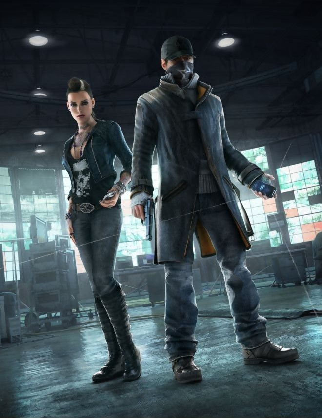watch dogs artwork clara lille and aiden pearce cyberpunk fashion he 2nd skin to. Black Bedroom Furniture Sets. Home Design Ideas