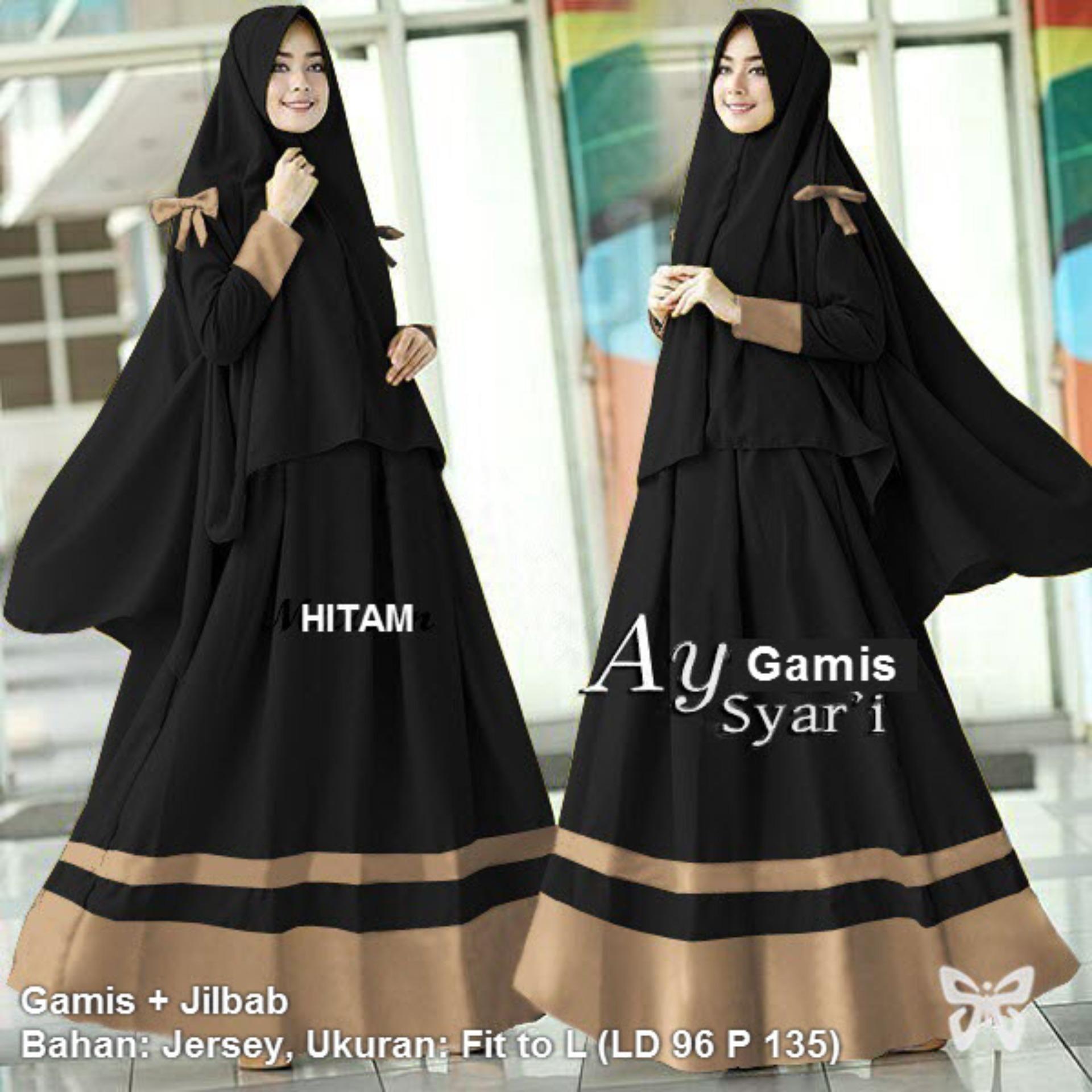 Baju Gamis Syari Remaja  Model pakaian muslim, Model pakaian