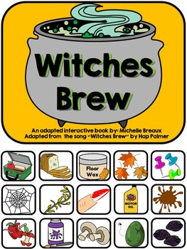 Witches Brew--A Halloween Song and Adapted Book and