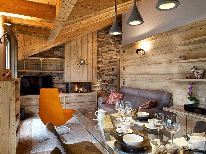 Una casa moderna en los Alpes