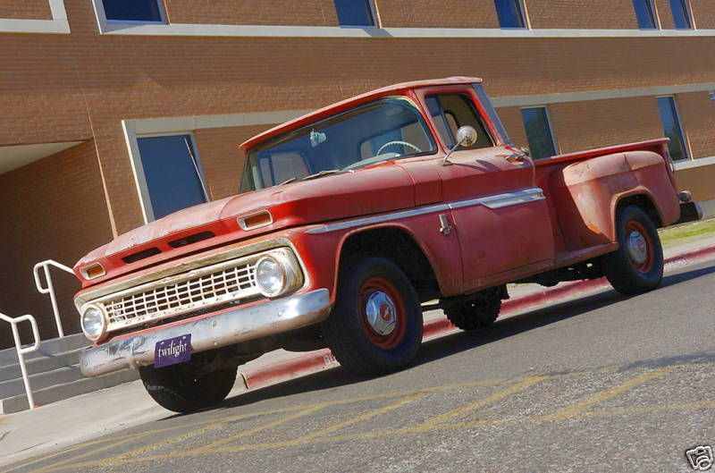 1963 Chevrolet Truck From Twilight The Movie Vintage Trucks Gmc Trucks Classic Chevy Trucks