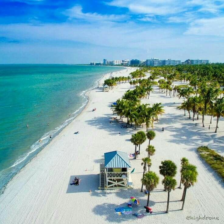 Crandon Park Beach Key Biscayne Florida