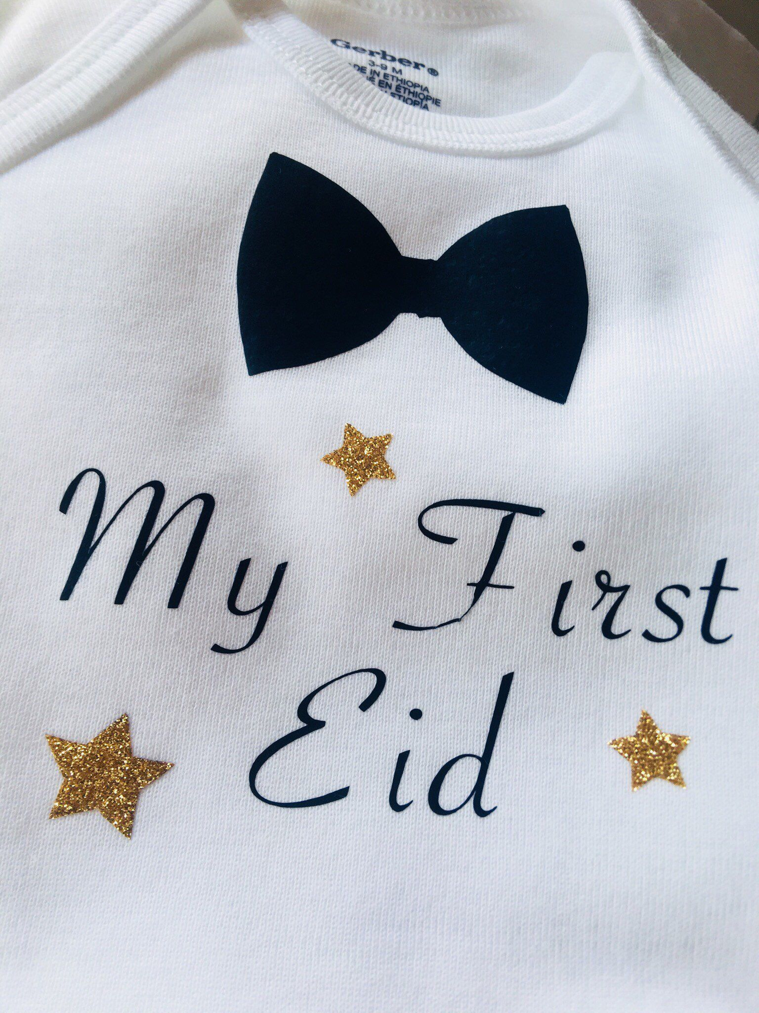 866e2c05e Excited to share this item from my #etsy shop: My First Eid baby onesies