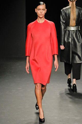 Calvin Klein Collection Fall 2012