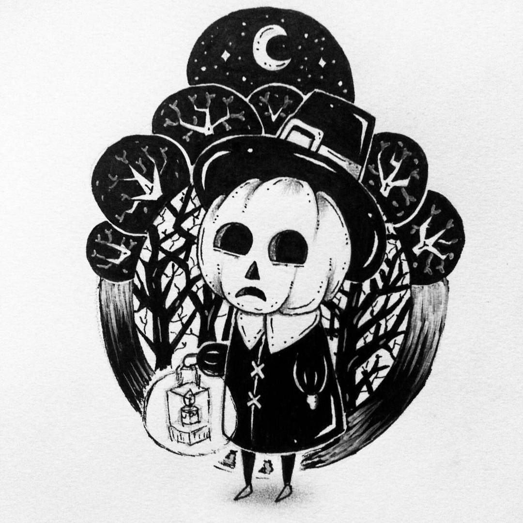 Halloween Tumblr With Images Halloween Drawings Art Scary Art