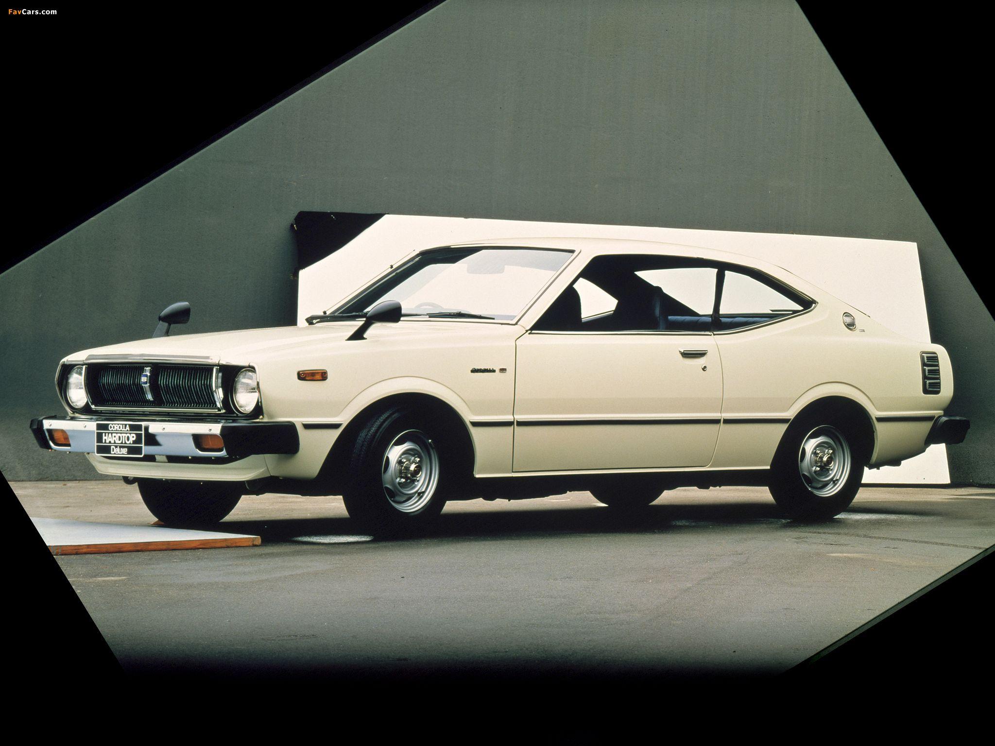Toyota corolla hardtop coupe e37 1974 1979