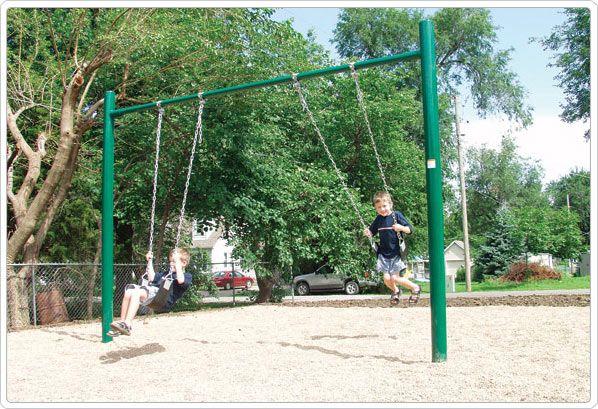 Sportsplay 581 502 4 5 Od Single Post Swing 2 Seat Outdoor