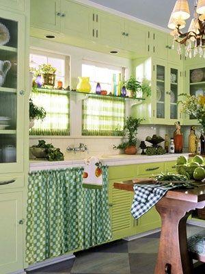 mesones de cocina con cortinas buscar con google casa