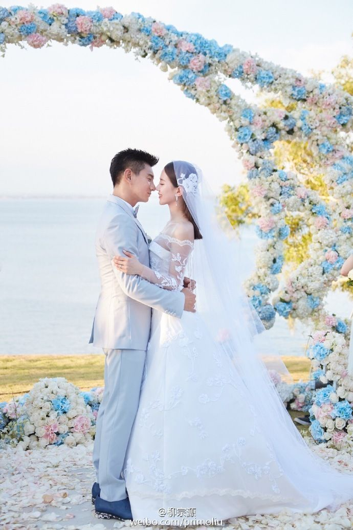 More of Taiwanese celebrities Nicky Wu and Cecilia Liu's luxurious pastel Bali wedding on Facebook and Instagram: The Wedding Scoop