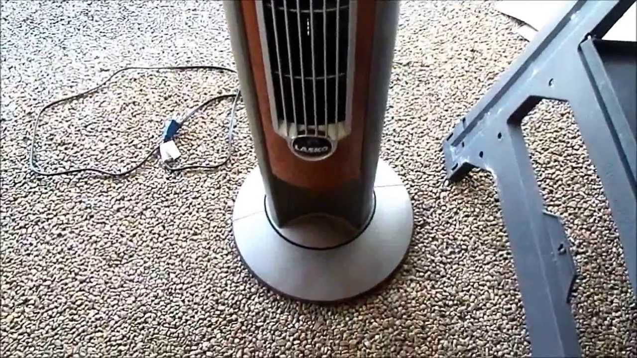 Tower Fan Squeaks When Oscillating The Fix With Images Tower
