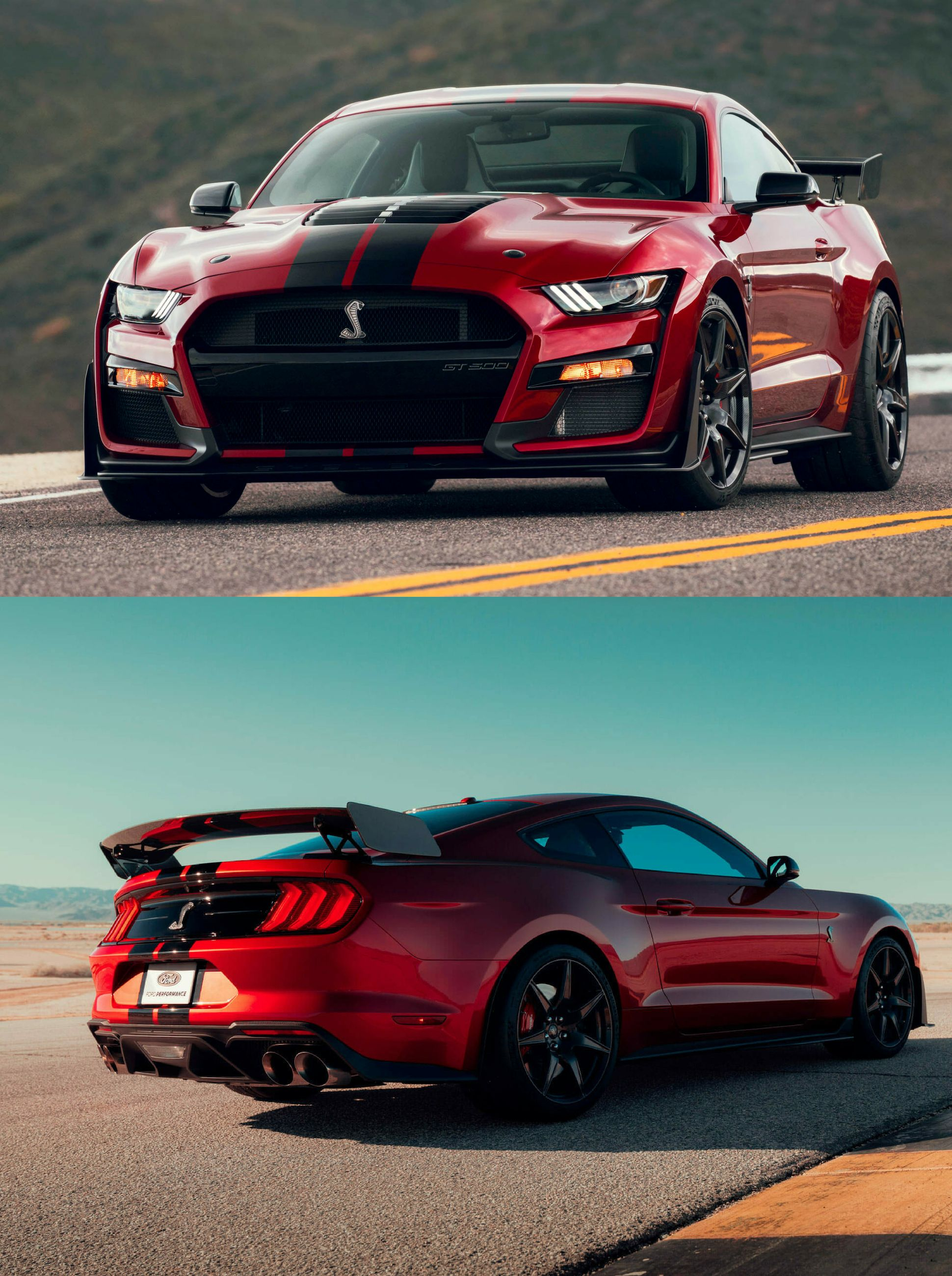 2020 Ford Mustang Shelby Gt500 With 5 2 Liter Supercharged V8