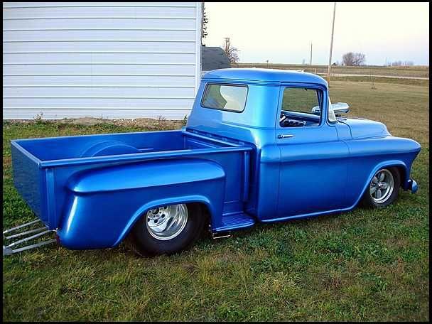 1956 Chevrolet Pro Street Pickup 496 Cu Chevy Trucks Trucks Chevy
