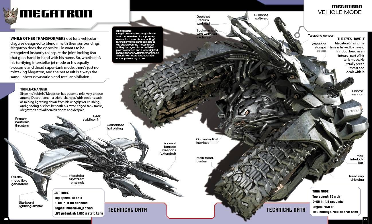 Transformers The Movie Guide Transformers