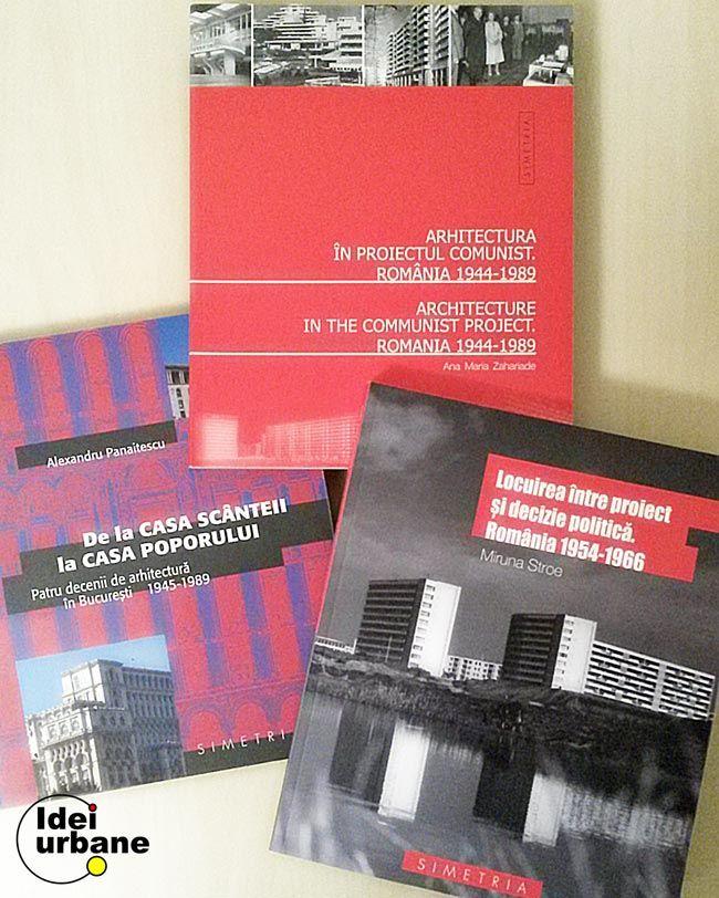 Pentru cei interesaţi de arhitectură, interesaţi mai departe de privirea unor imagini, recomand trei cărţi care tratează subiectul arhitecturii din România în perioada comunistă. Toate trei cărţile au exemple multe din Bucureşti, prima dintre ele fiind axată chiar pe evoluţia arhitecturii bucureştene în această perioadă. Am ales să vi le prezint pe scurt în ordinea [...]