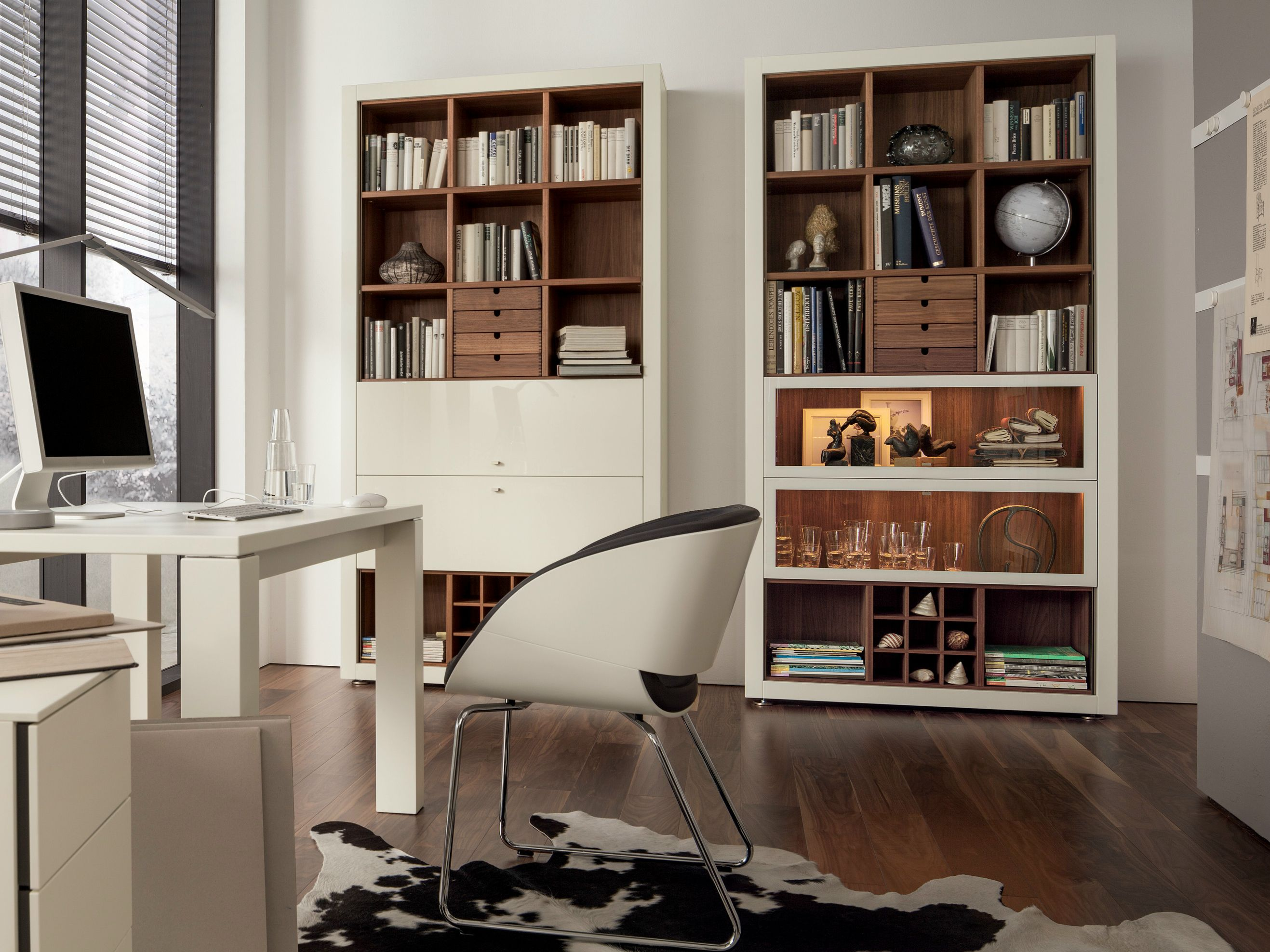 Xelo lacquered bookcase by h lsta werke h ls library - Hulsta xelo ...