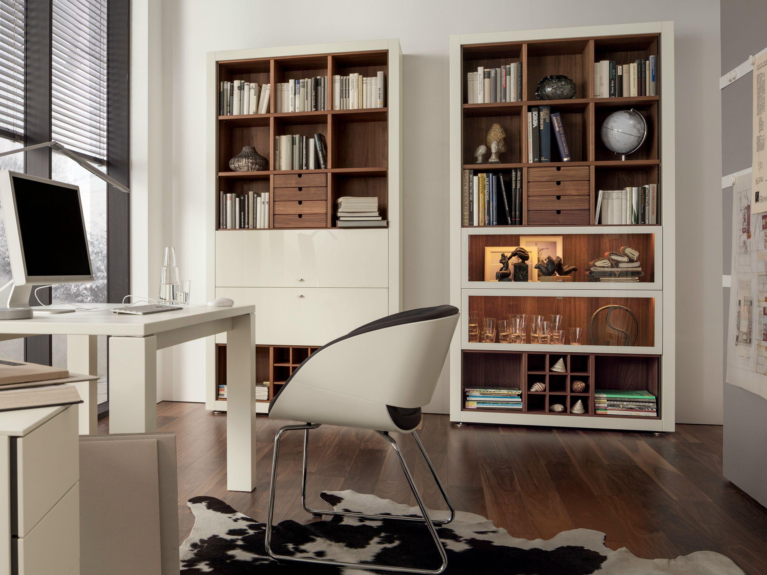 Hülsta Babyzimmer ~ Xelo lacquered bookcase by hülsta werke hüls library