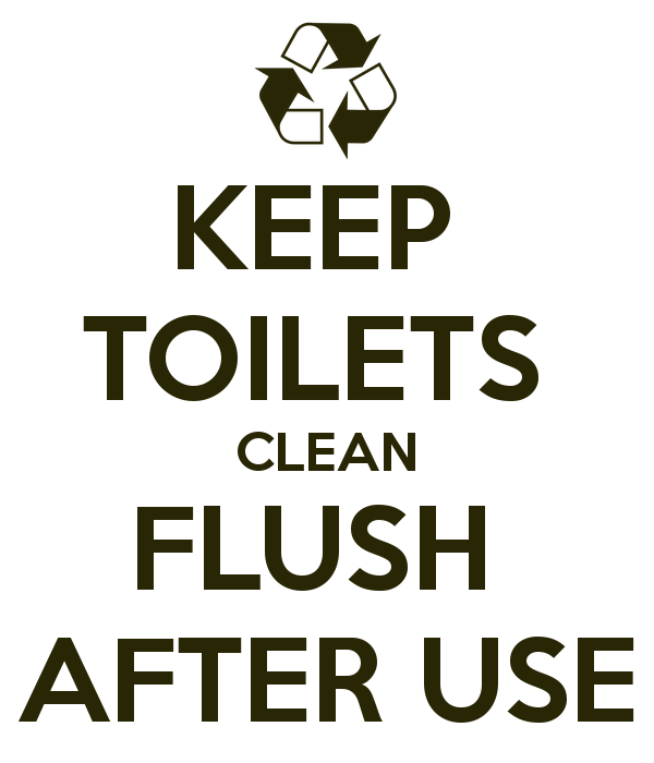 Keeptoiletscleanflushafter Use In 2020 Toilet Cleaning Printable Bathroom Signs Flush