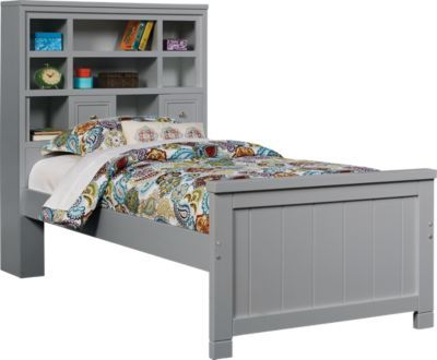 For A Cottage Colors Gray 3 Pc Twin Bookcase Bed At Rooms To Go Kids Find That Will Look Great In Your Home And Complement The Rest Of Furniture