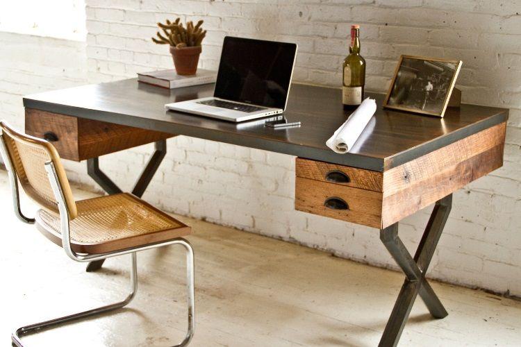 25 Best Desks For The Home Office Man Of Many Home Office Design Home Office Furniture Home Office Desks