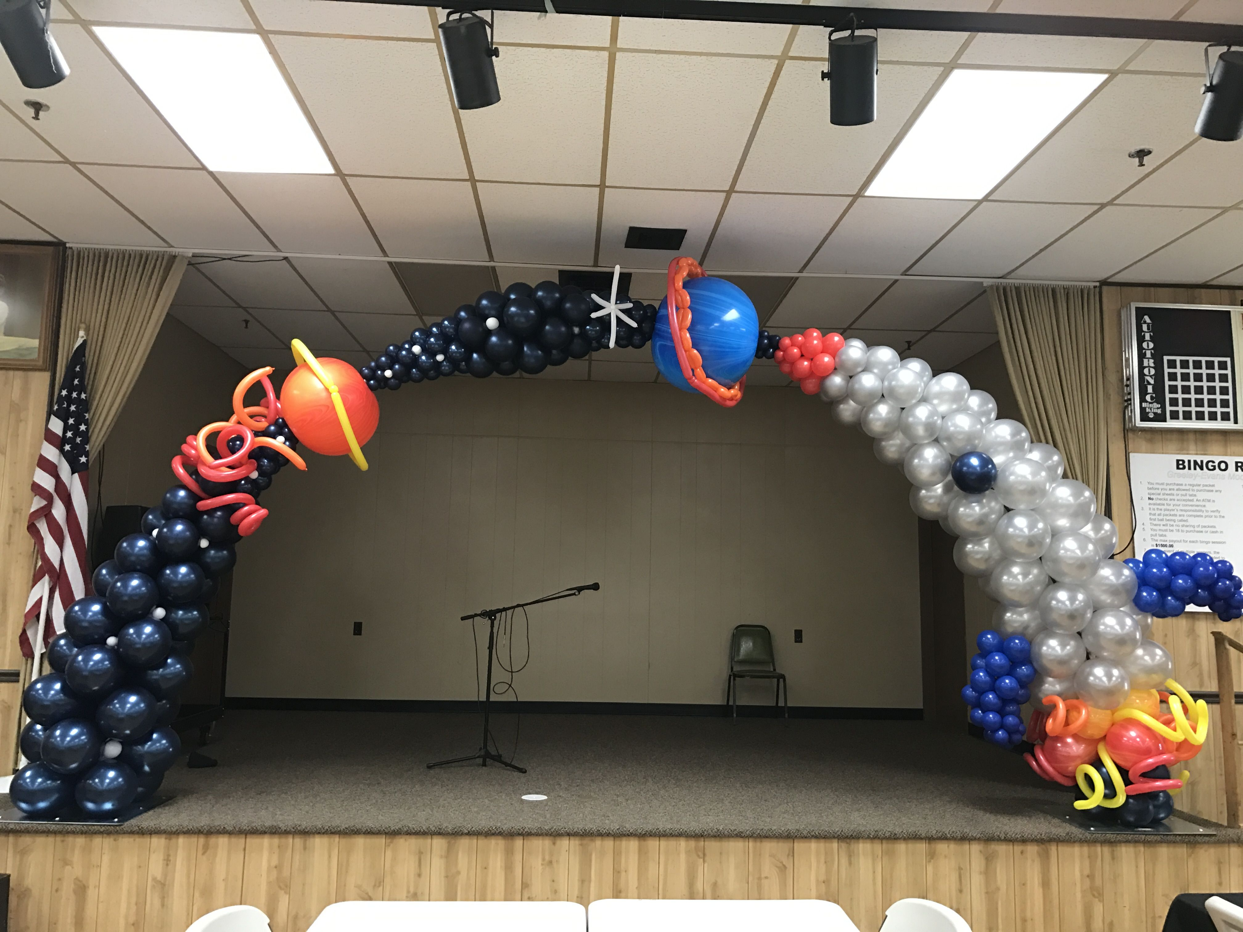 Designed By Allison Dunning By Balloon Art By Merry Makers Space