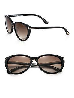 850dc98331c7 Tom Ford Eyewear - Gina Cat s-Eye Sunglasses