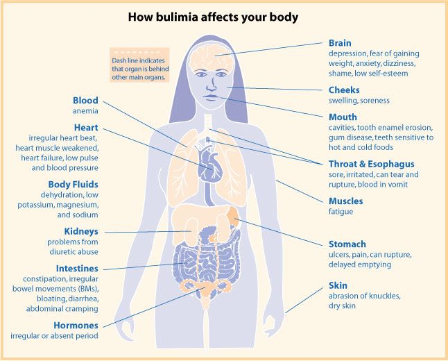 the cause and effect of bulimia on the human body Check out our top free essays on cause and effect essay unhealthy eating to help you saturated fat effects the human body unit 1 cause/effect.