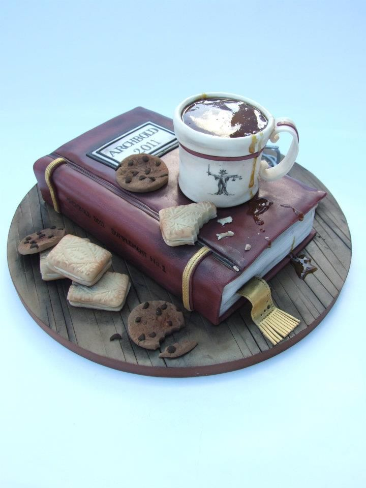 This would be perfect cake for me! lol (Emma Jayne Cake Design)