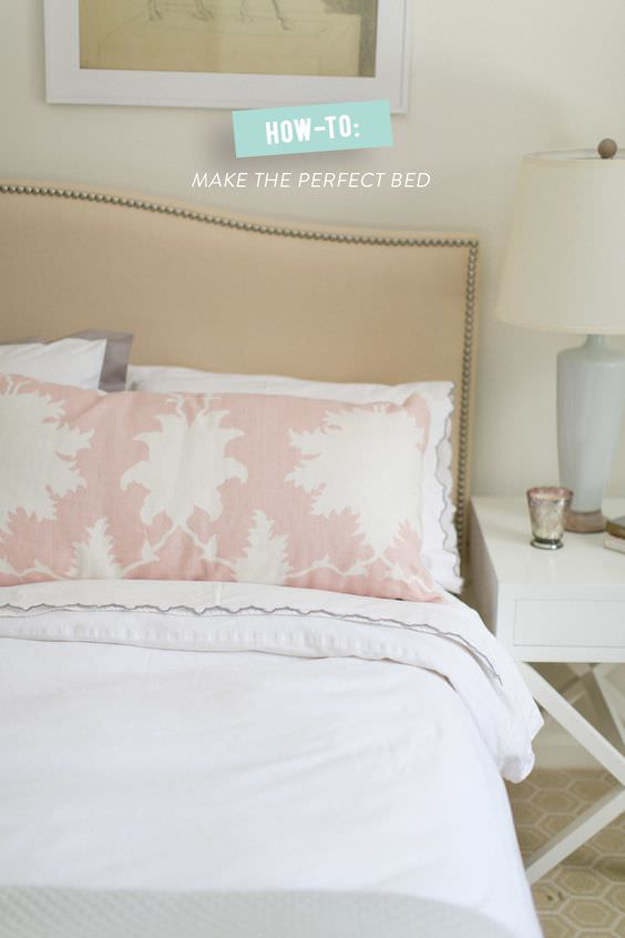 Photo of Make a Perfect Bed – Boutique Hotel Style • The Budget Decorator