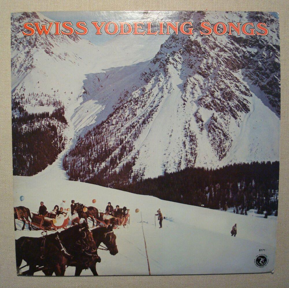 Max McCauley Swiss Yodeling Songs Record LP Cowboy New