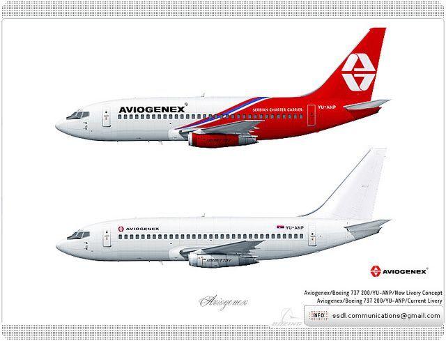 Aviogenex / Livery concept | Livery concept | Aircraft, Aviation